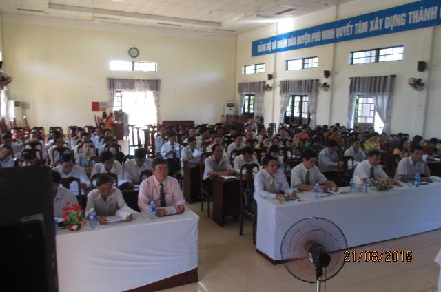 Giáo dục Phú Ninh với Đổi mới phương pháp dạy học, nâng cao chất lượng giáo dục toàn diện, mũi nhọn
